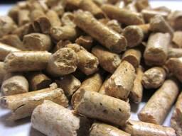 Пеллеты древесные топливные 6 мм сосна Экспорт - фото 2