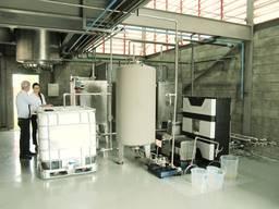 Биодизельный завод CTS, 2-5 т/день (полуавтомат), сырье животный жир