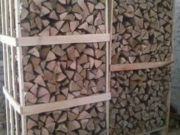 Chopped firewood, oak, ash (natural moisture) - photo 1
