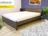 Double and single wood beds made of alder - фото 1