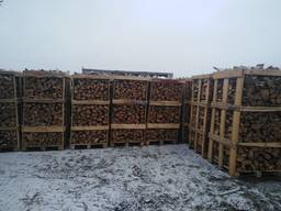 Firewood oak in boxes 2 RM