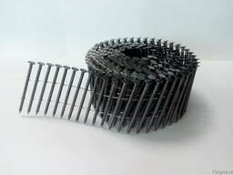 Гвозди (Nail) ершеные сваренные в катушку - фото 2