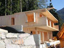 Модульный дом из клееного бруса, монтаж по всей Европе. Проект бесплатно!