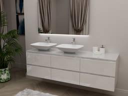Bathroom Storage Furniture Set Nikolet