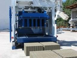 Блок-машин Мобильная для производства бордюров, полых блоков