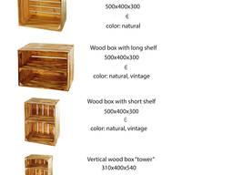 Винные декоративные ящики (тумбочки) - photo 2