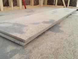 Wood wool cement board / Houtwolcement platen - фото 6